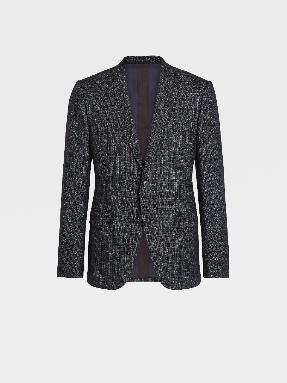 Milano Easy Wool Silk and Cashmere Notch Lapel Jacket