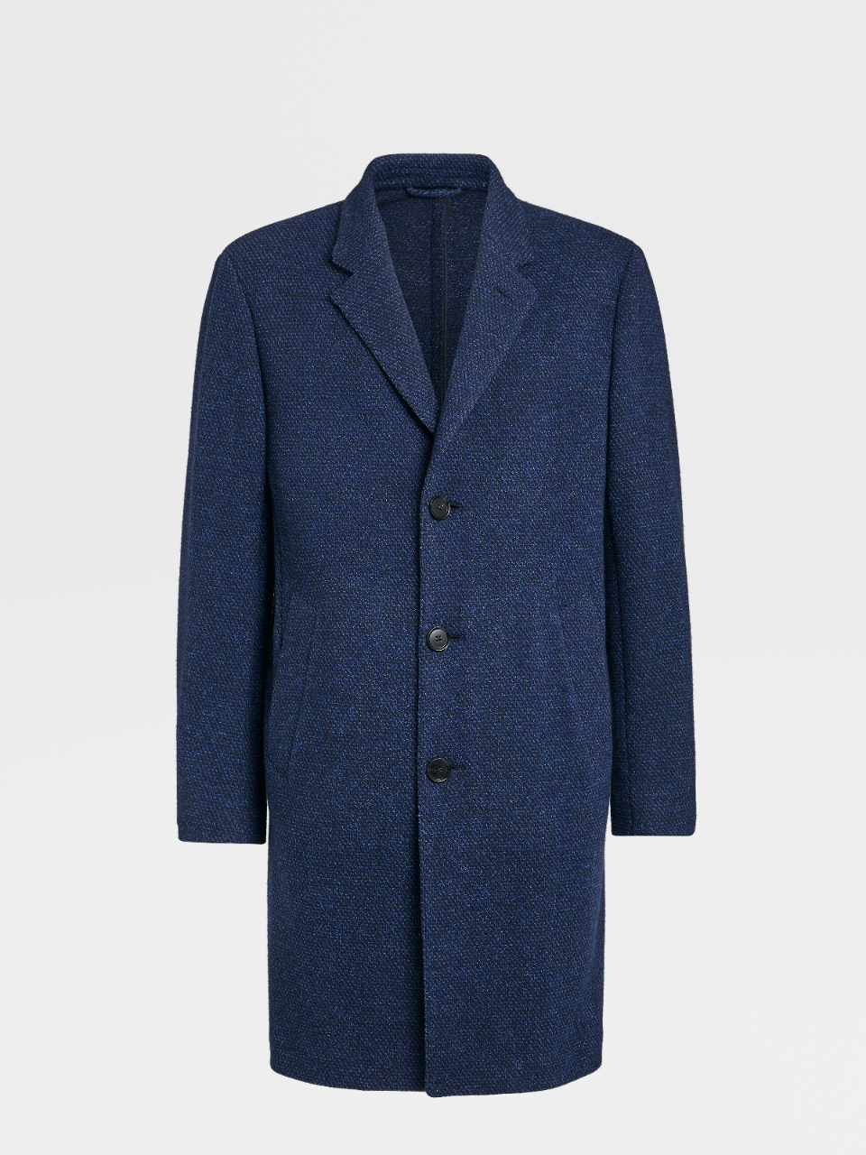 Cashmere And Wool Blend Overcoat