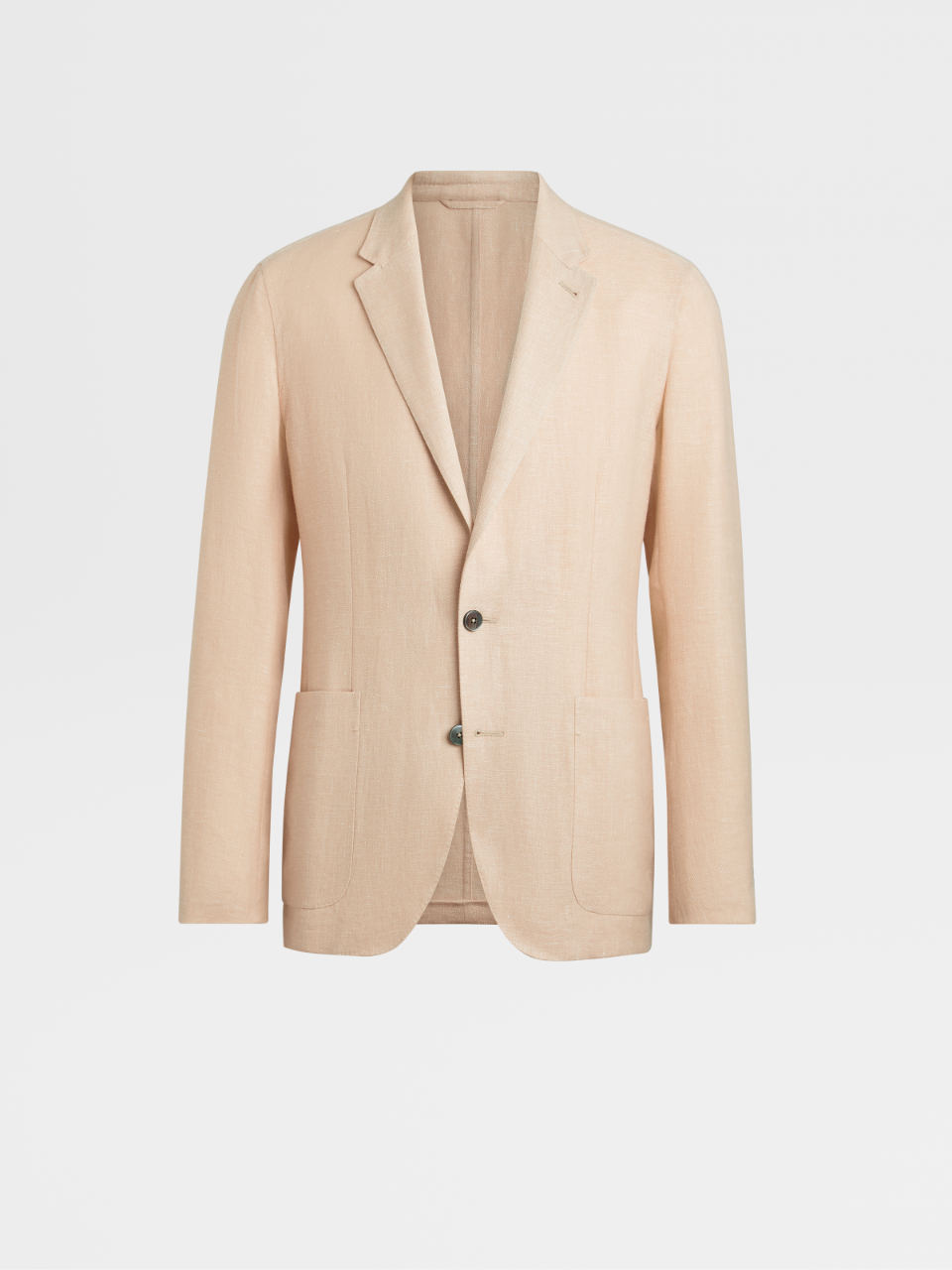 Linen Wool And Silk Jacket