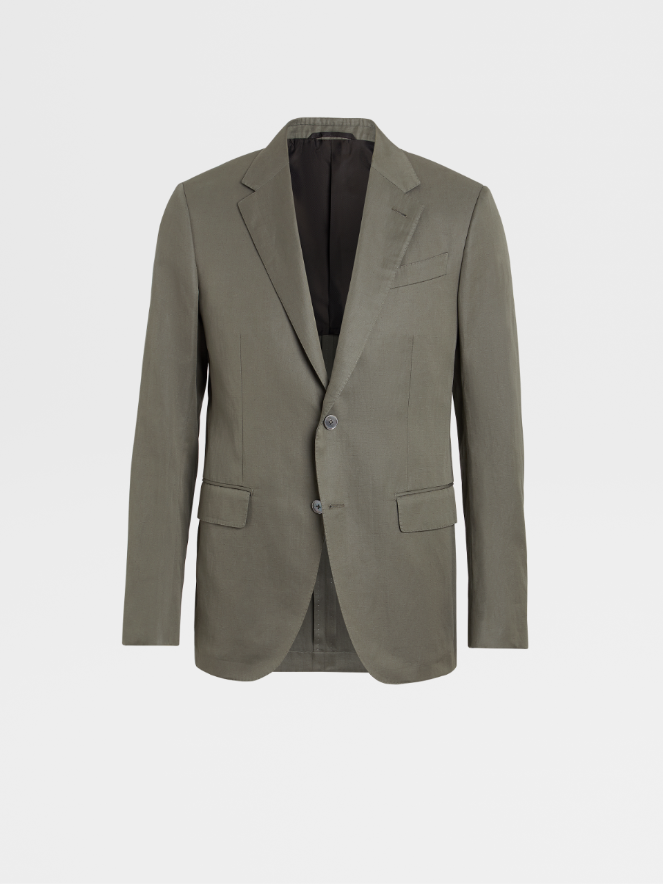 Cotton And Linen Jacket Drop 7