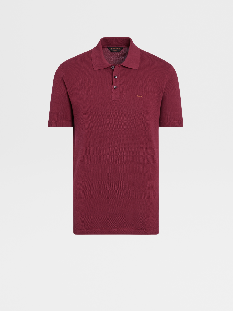 Couture Knit Cotton Short-sleeve Polo