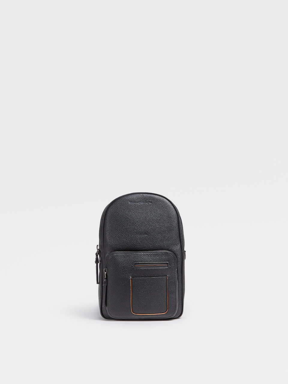 Grained Calf Sling Pack