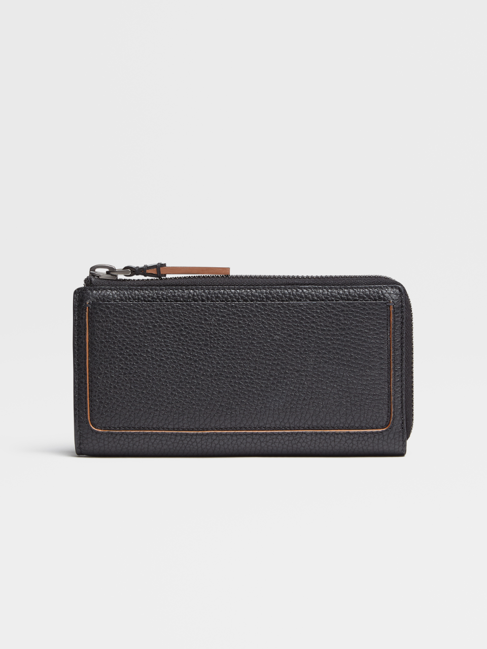 Grained Calfskin Blazer Continental Phone Wallet