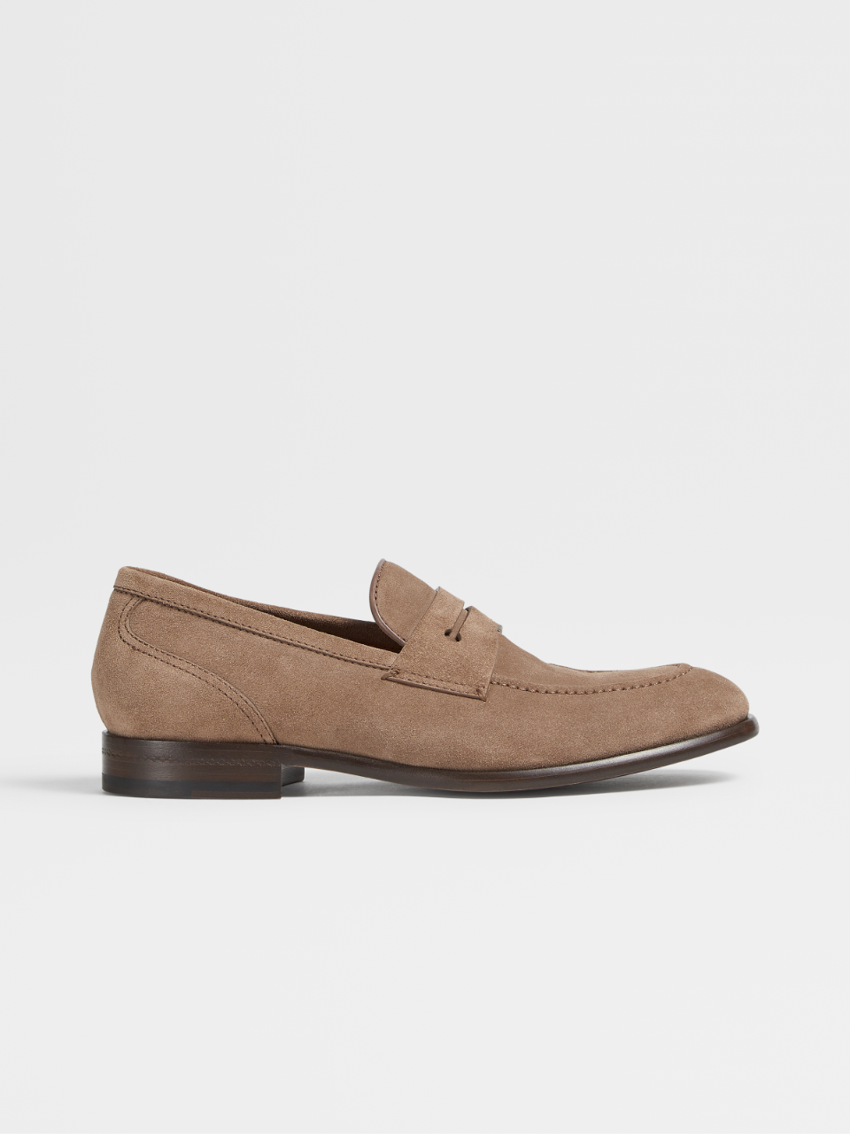 Suede Marcello Moccasin