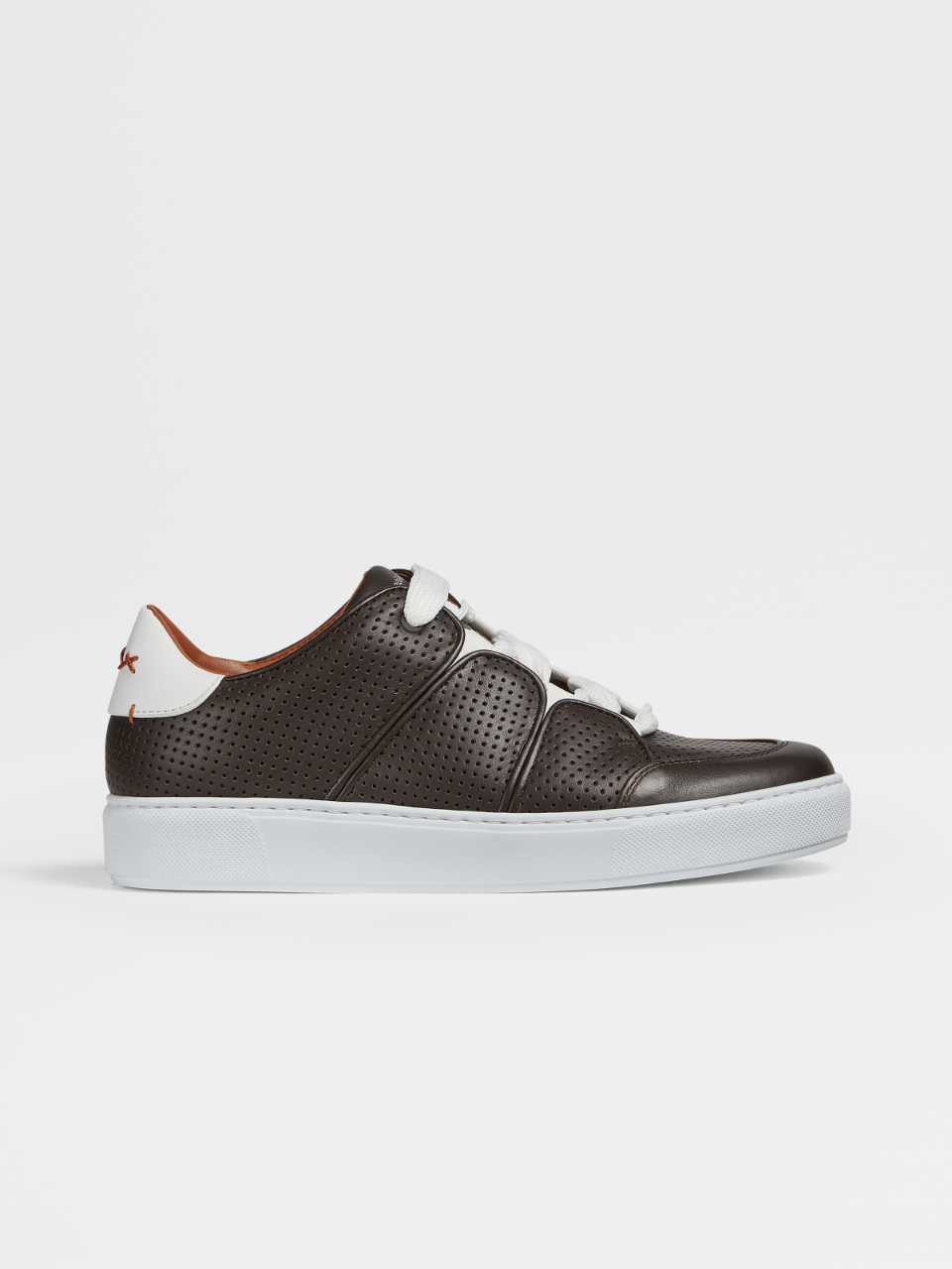 Perforated Nappa Tiziano Sneakers
