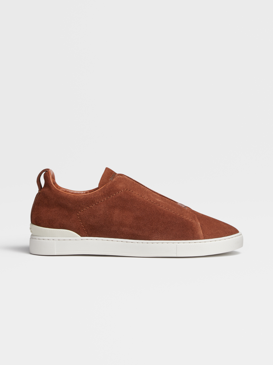 Suede Triple Stitch Sneakers