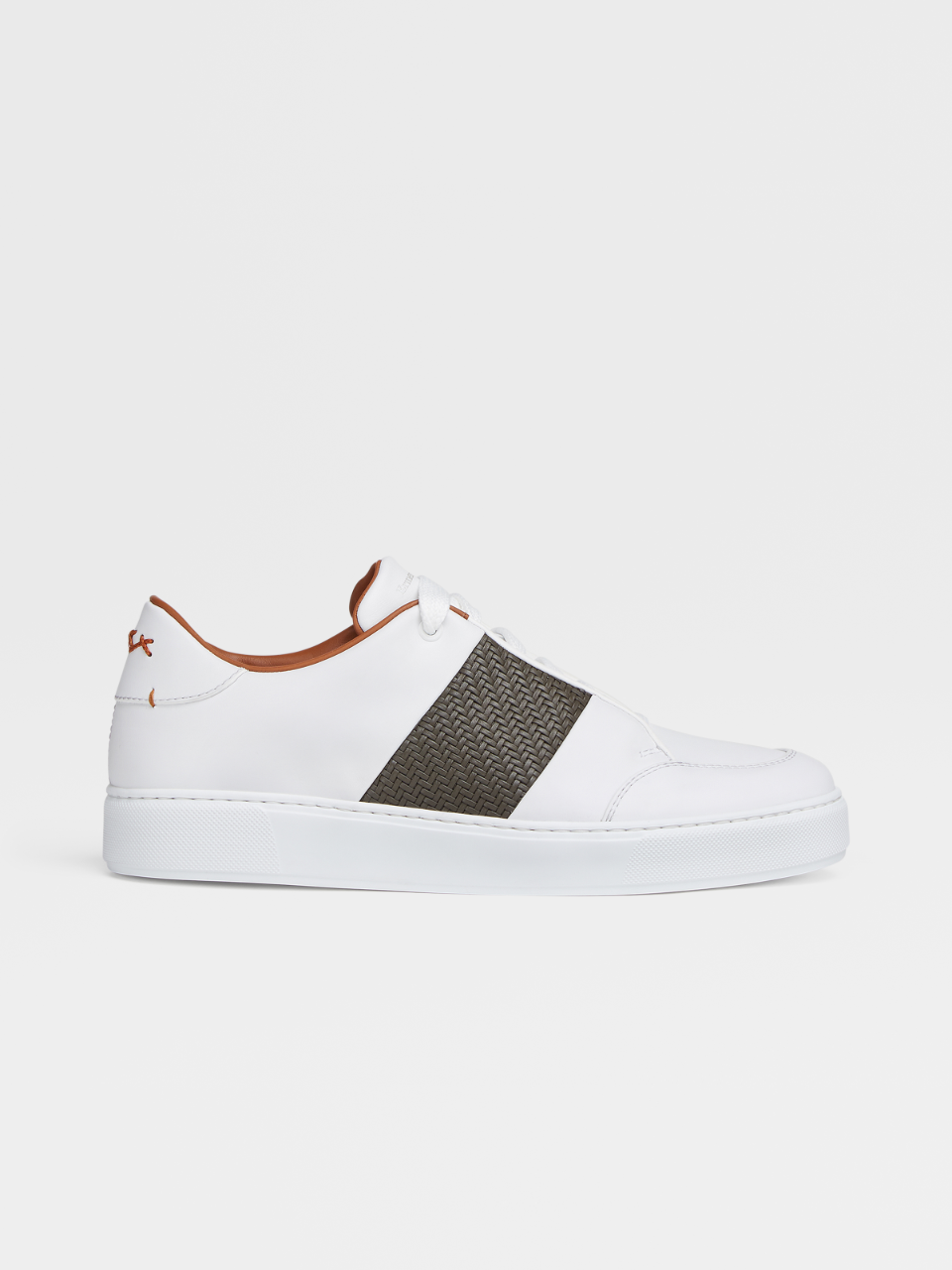 Smooth Calfskin Tiziano Sneakers