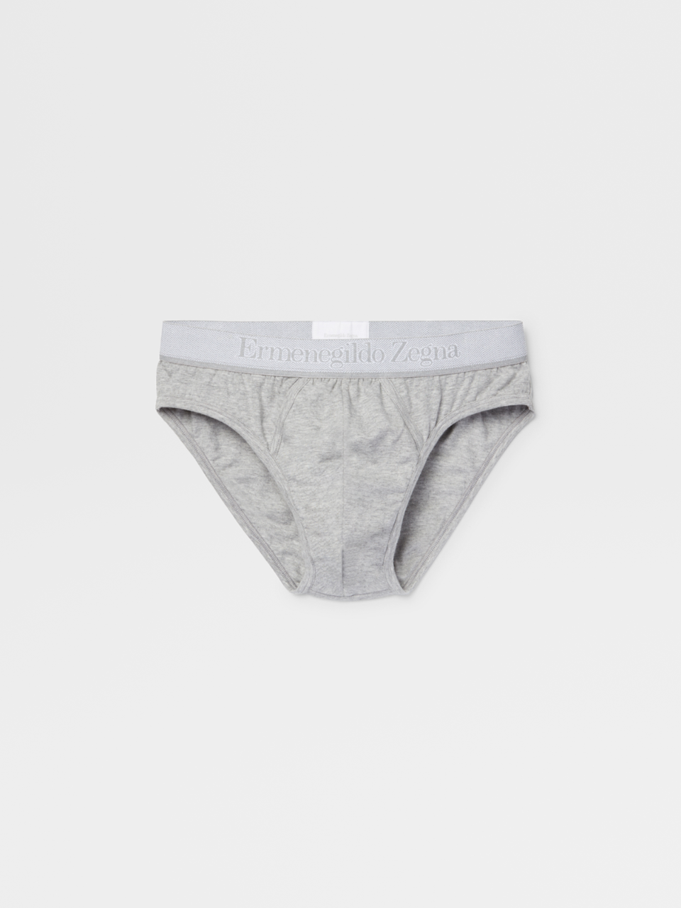 Grey Mélange Midi Briefs - Bi Pack