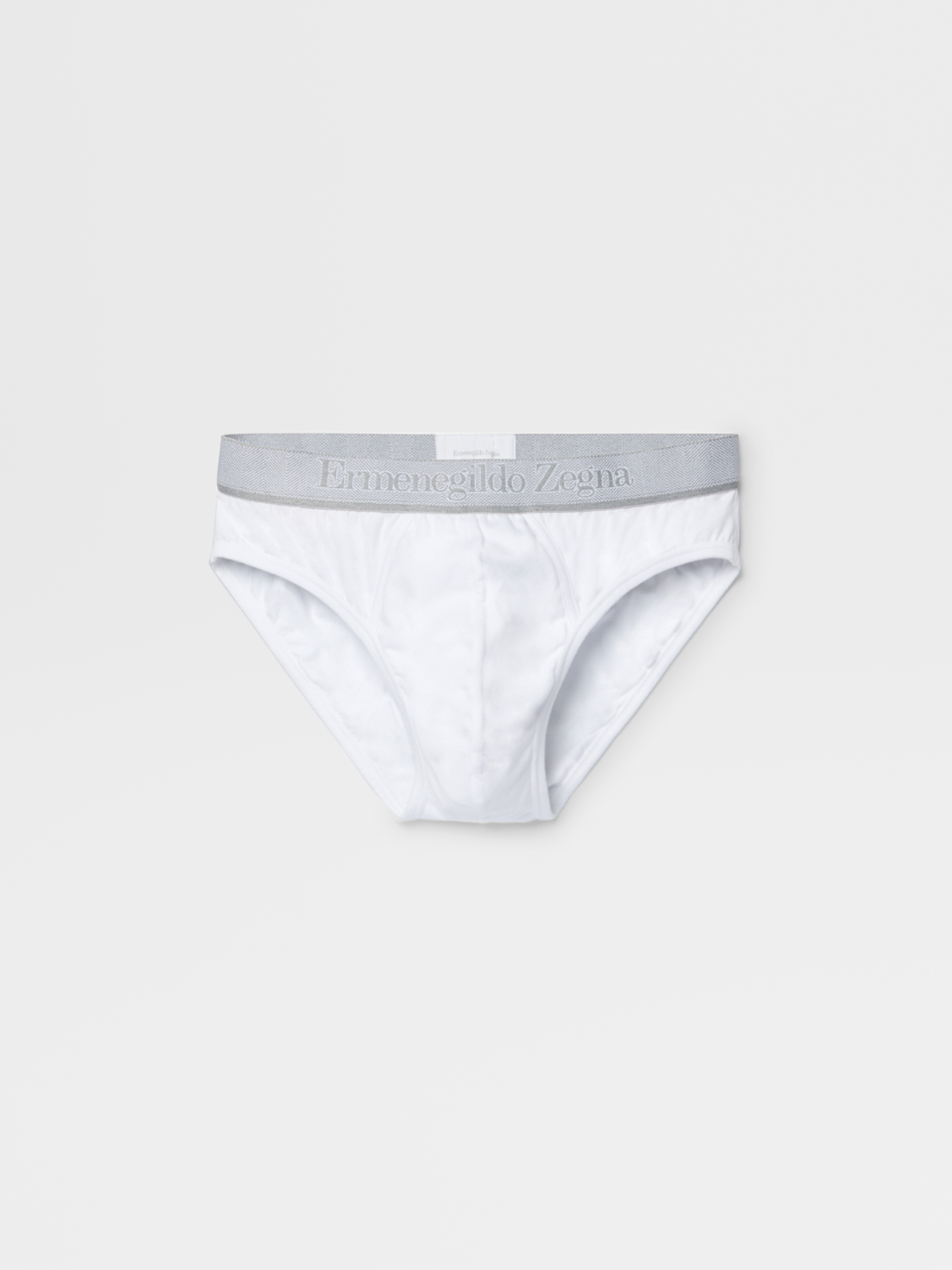 White Midi Briefs - Bi Pack