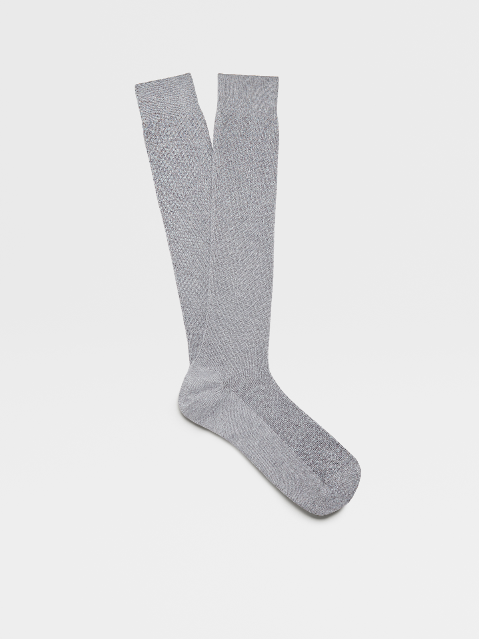 Natural Cotton Knee Socks