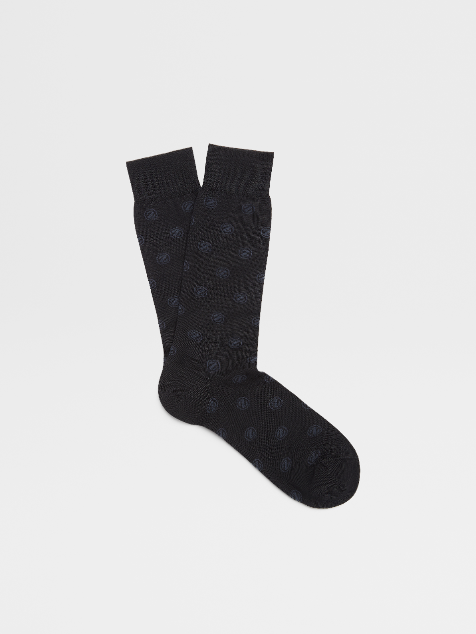 Cotton Blend Mid Calf Socks