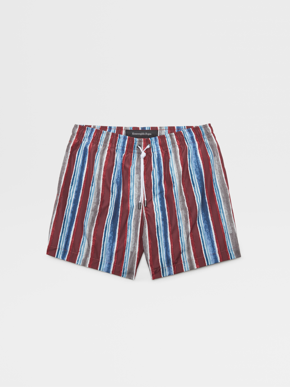 Colored Stripes Swim Boxers