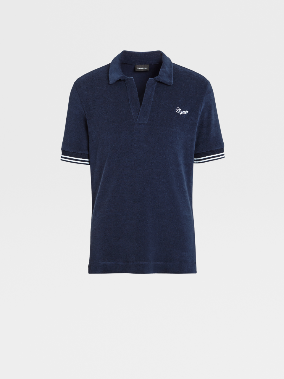 Towelling Cotton Polo