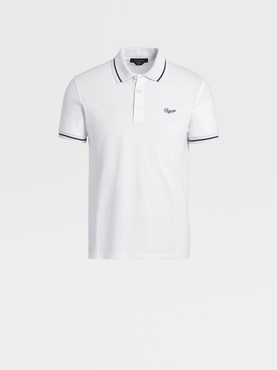 Stretch Cotton Polo
