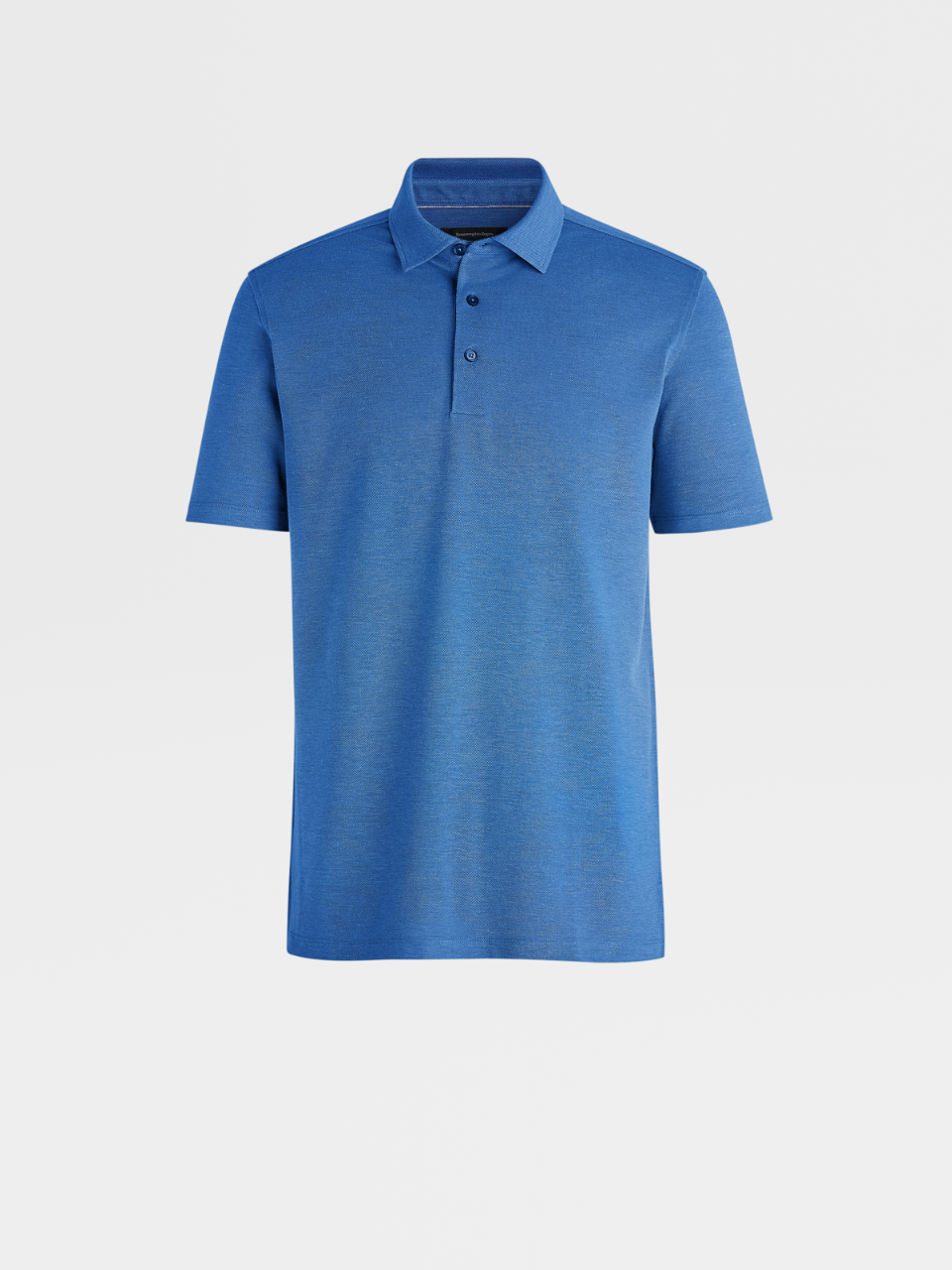 Bluette Cotton/Silk Polo