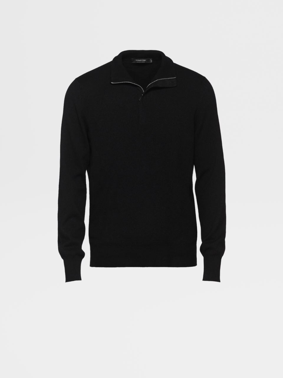 Black Premium Cashmere Sweater