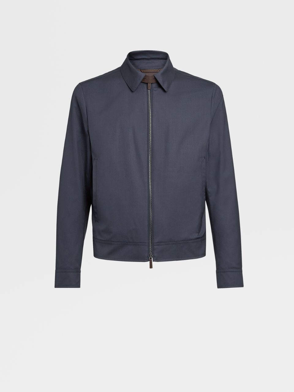 Wool And Silk Leggerissimo Bomber Jacket