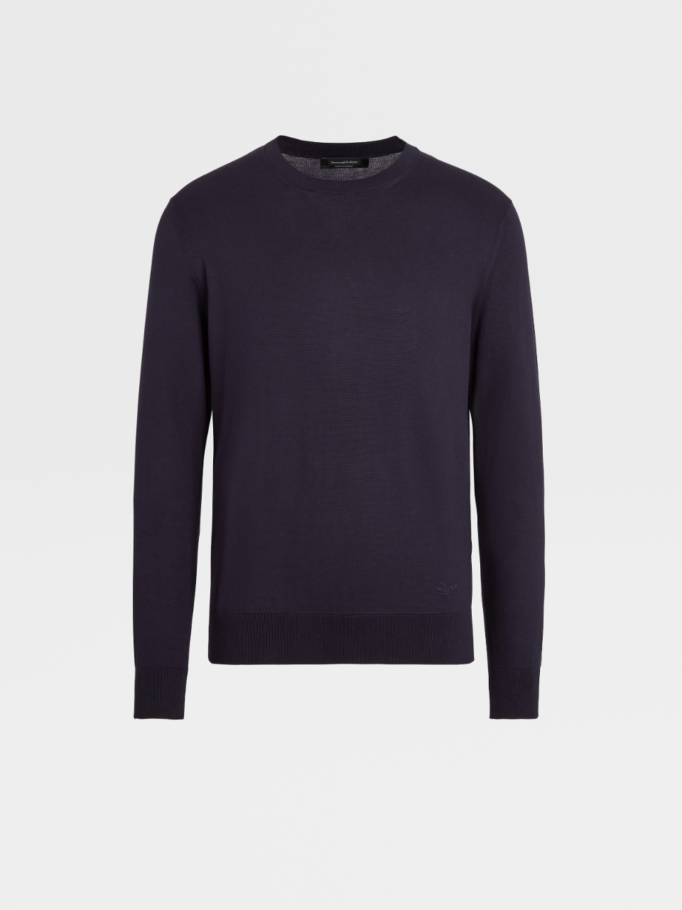 Premium Cotton Knit Crewneck