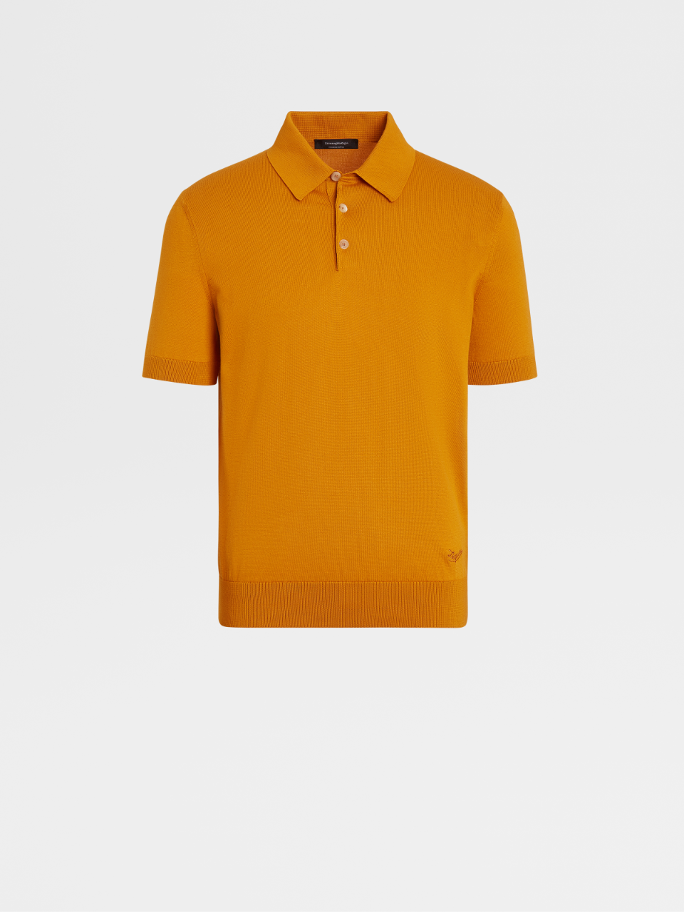 Premium Cotton Knit Short-Sleeve Polo