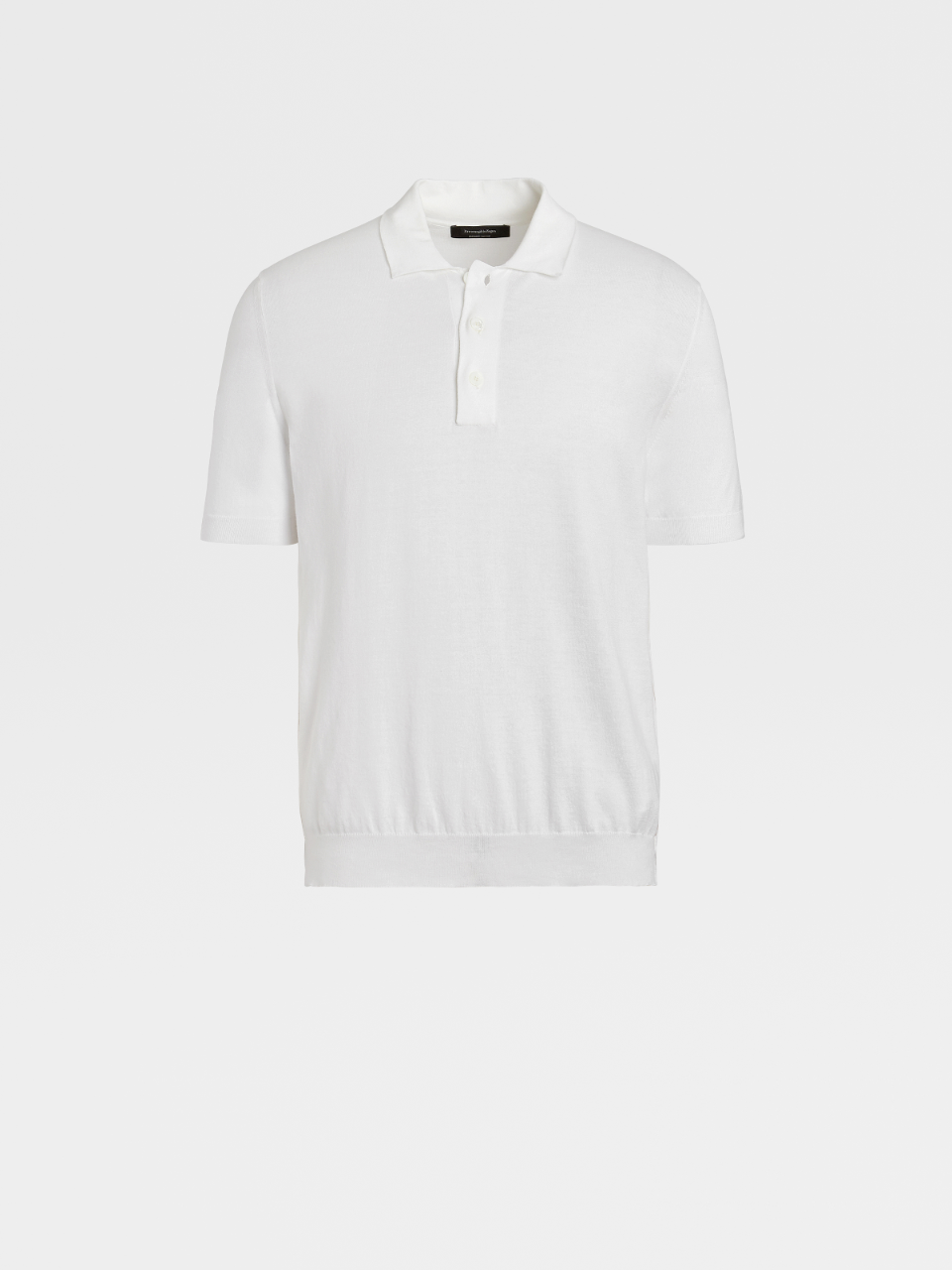 Cotton Knit Polo