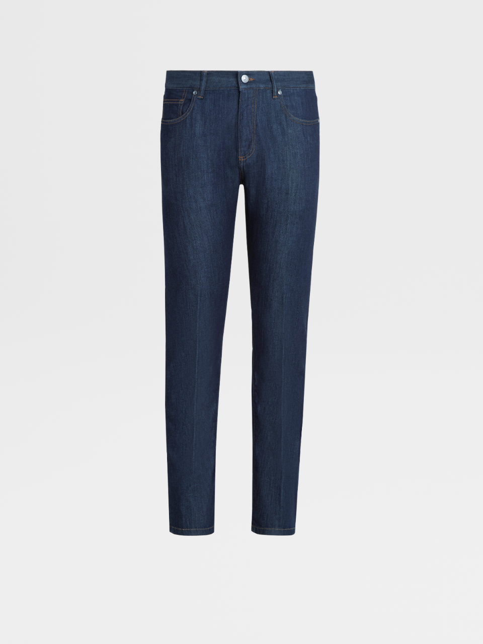 Stretch Cotton 5-Pocket Denim