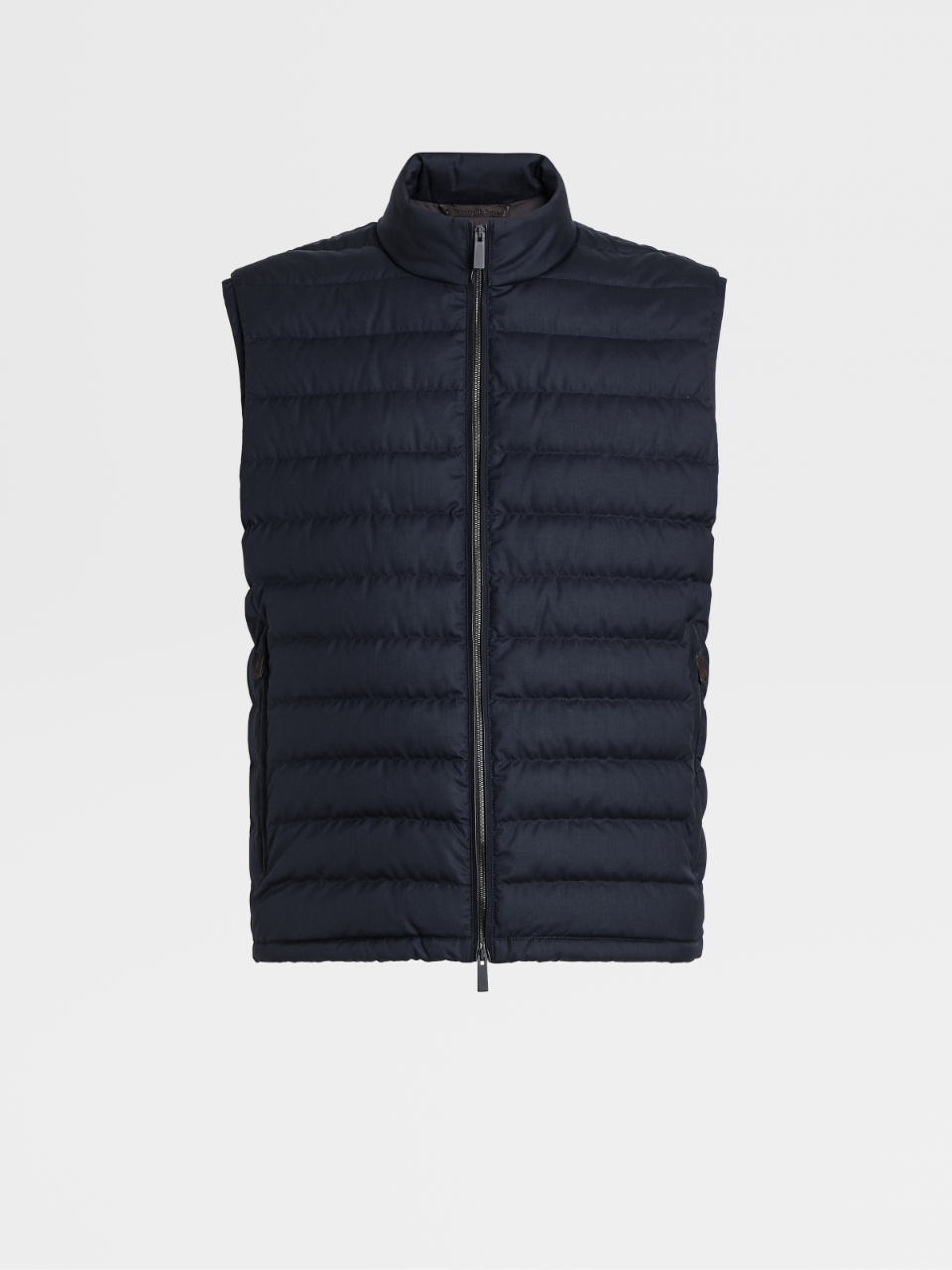 Leggerissimo Wool And Silk Down Vest