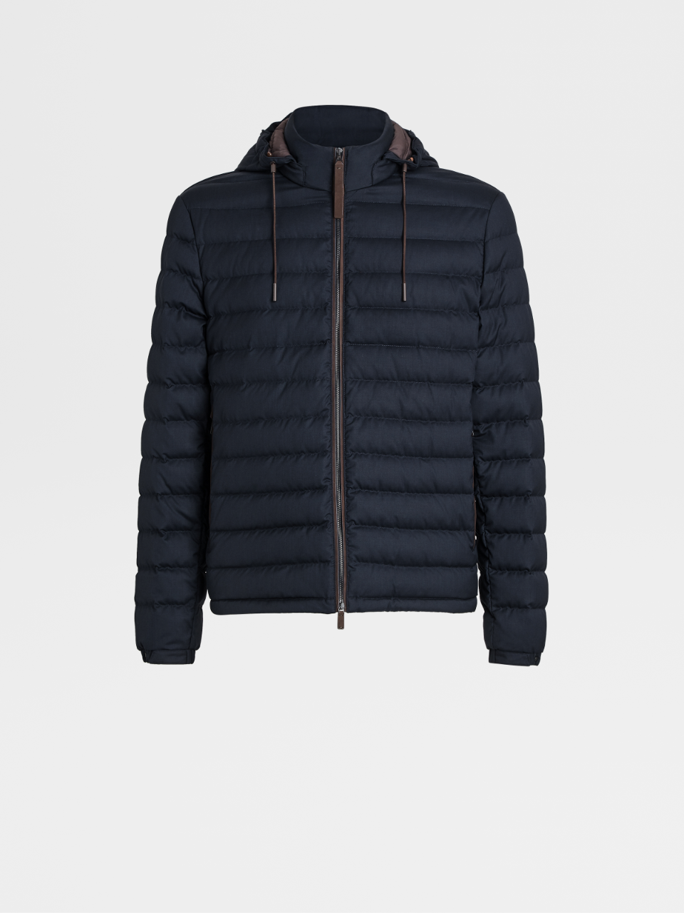 Leggerissimo Wool And Silk Down Jacket