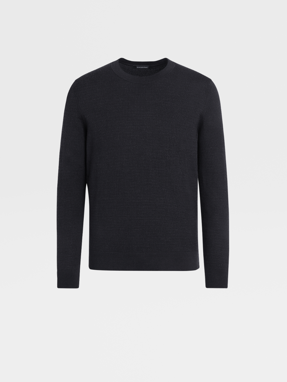 Wool Silk And Cashmere Knit Crewneck
