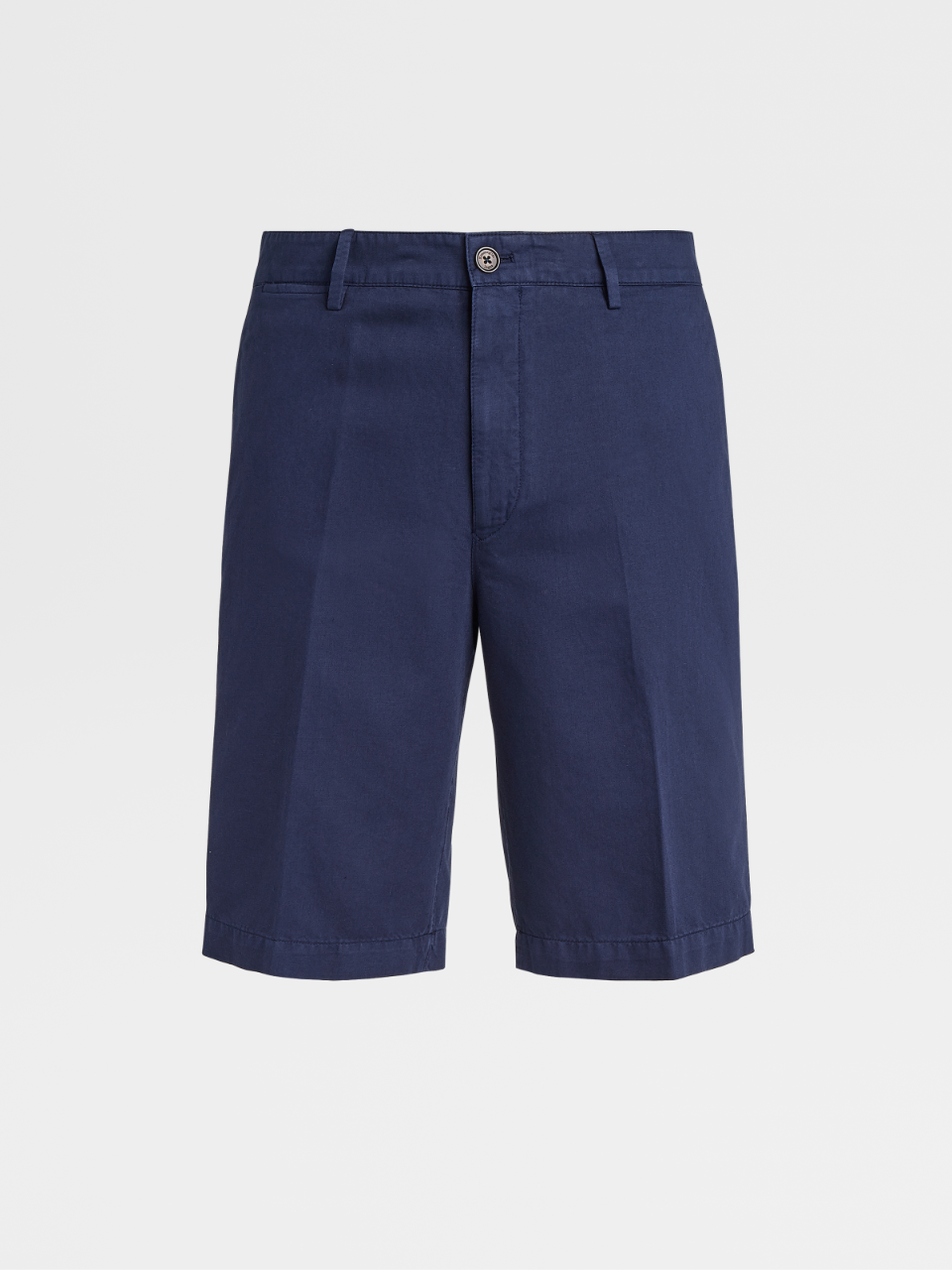 Cotton And Linen Short Trousers