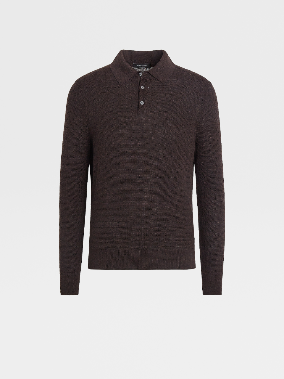 Cashmere And Silk Knit Polo