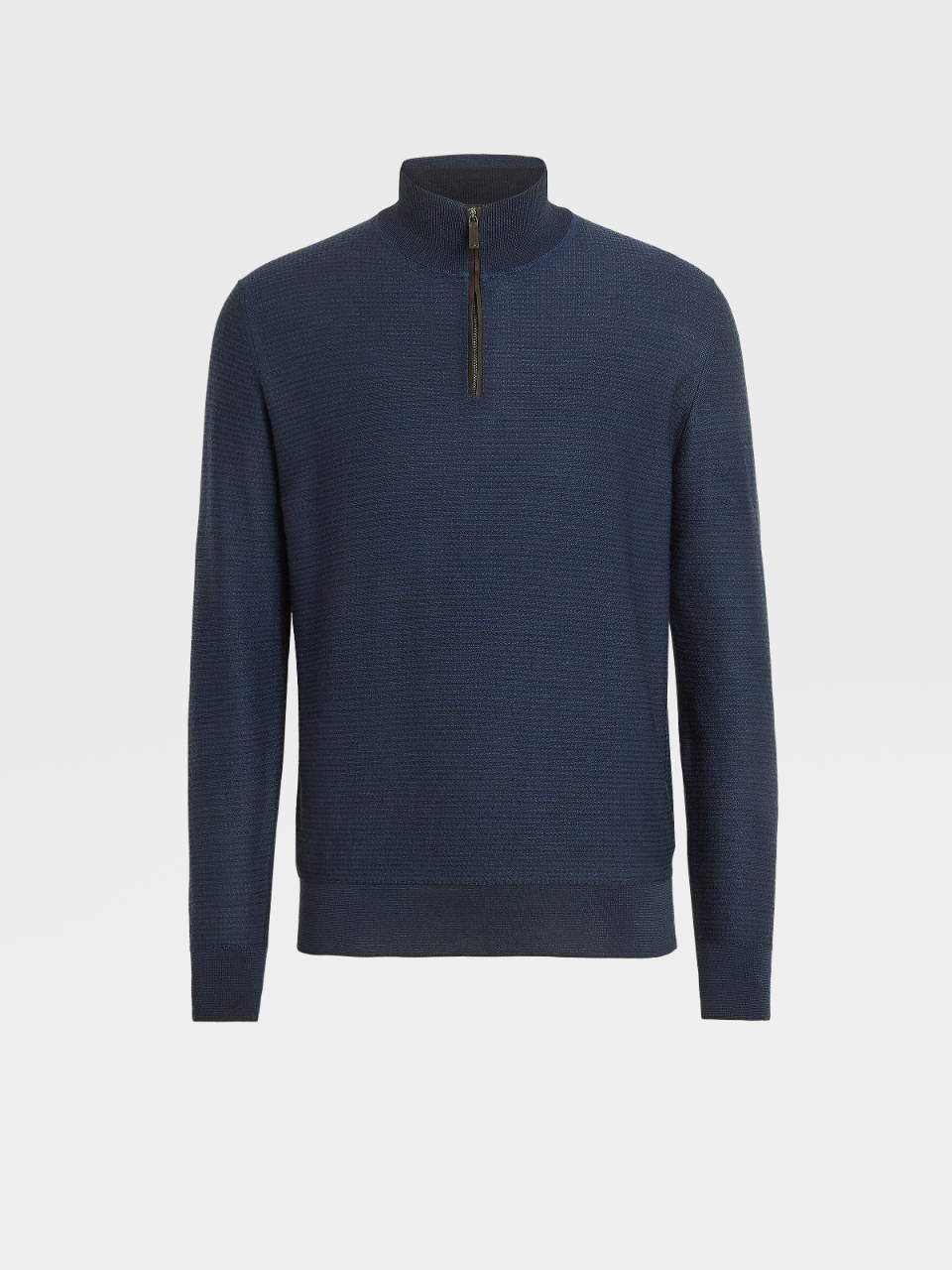 High Performance Wool Knit Turtleneck