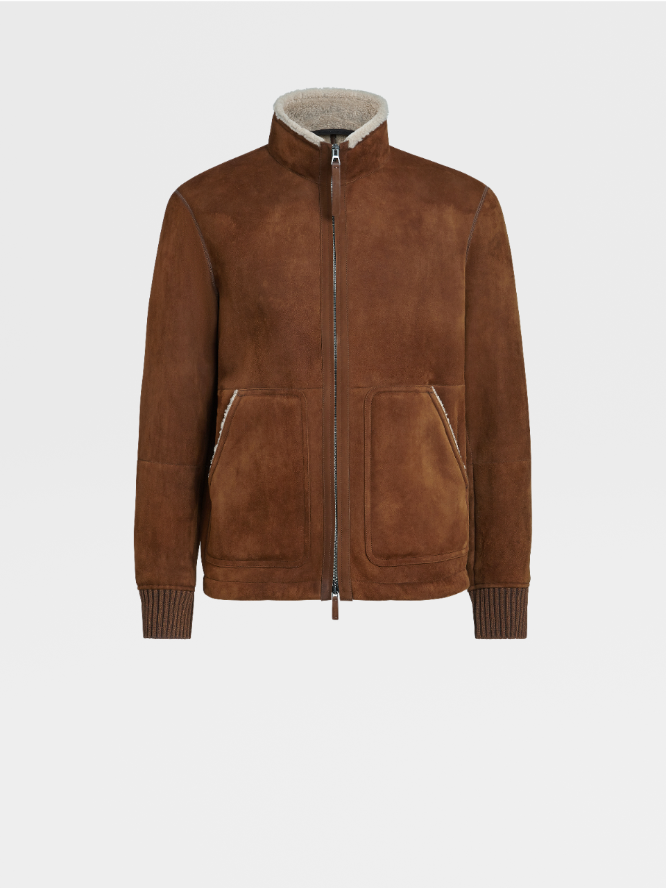 Shearling Short Jacket