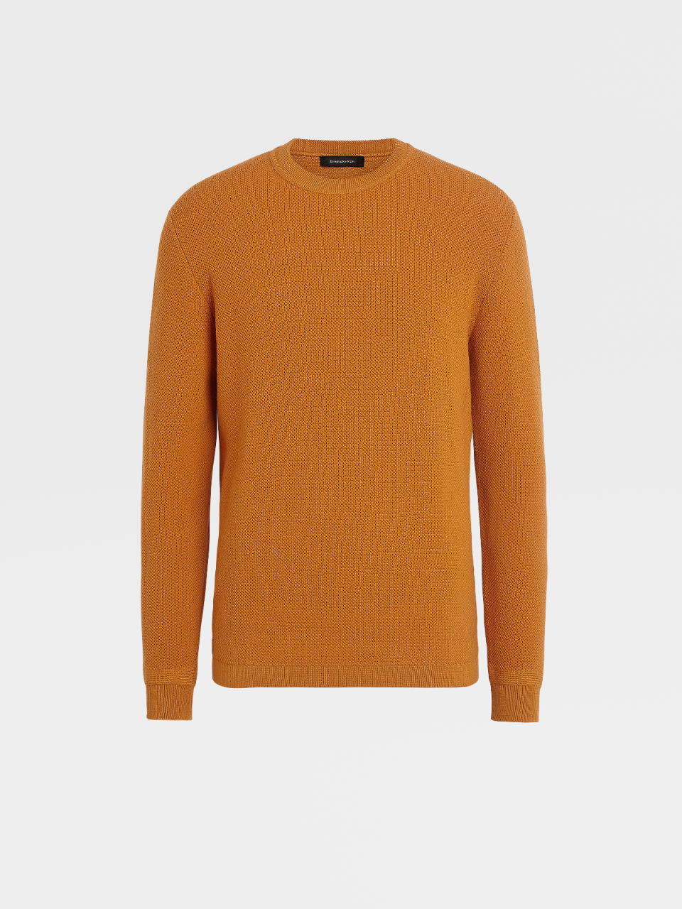 Wool And Cashmere Knit Crewneck