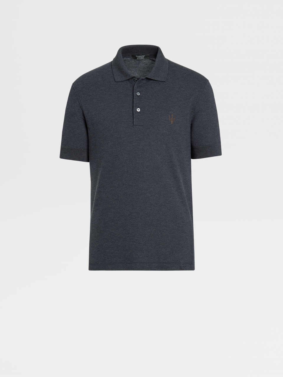 Maserati Cotton Polo Shirt