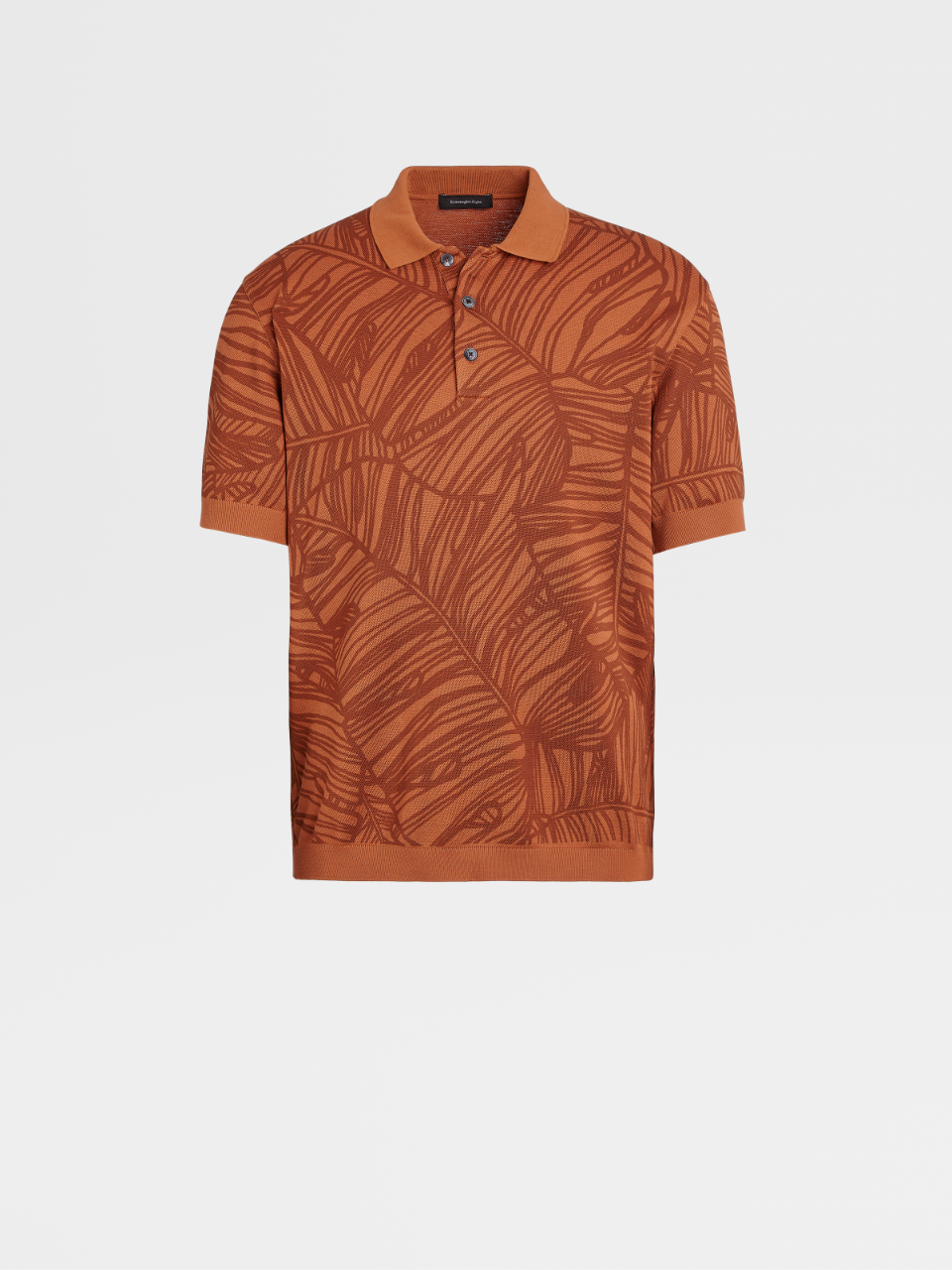 Cotton Short-Sleeve Polo