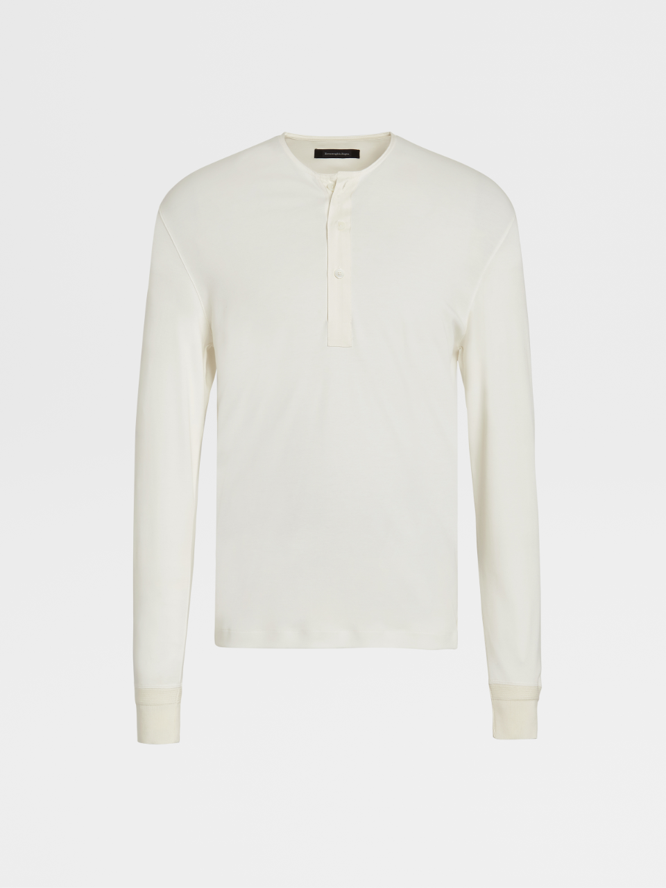 Cotton And Silk Henley