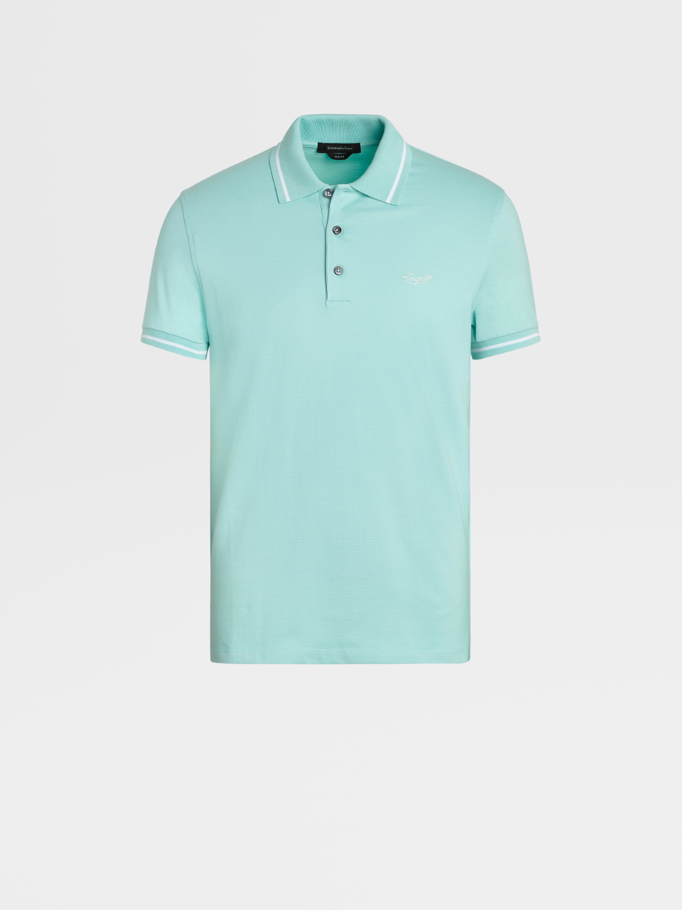 Stretch Cotton Short-Sleeve Polo