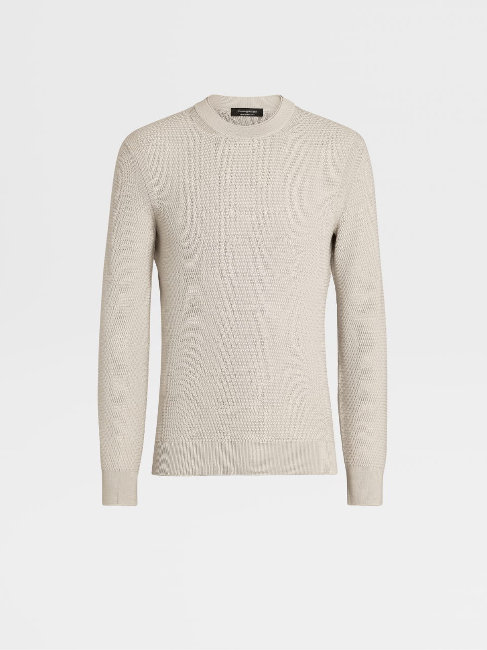 High Performance Wool Knit Crewneck