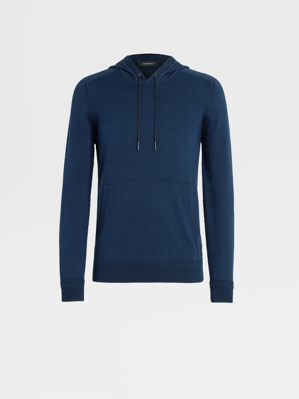 Cotton And Cashmere Knit Hoodie