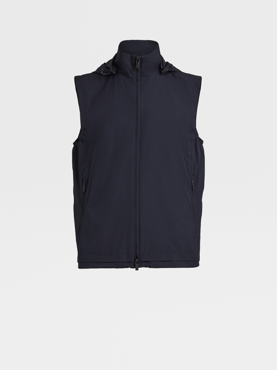 Technical Fabric Hooded Vest