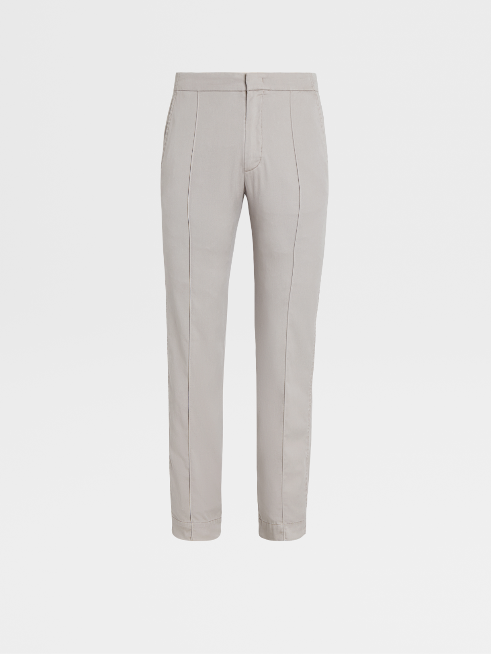 Stretch Lyocell And Cotton Joggers