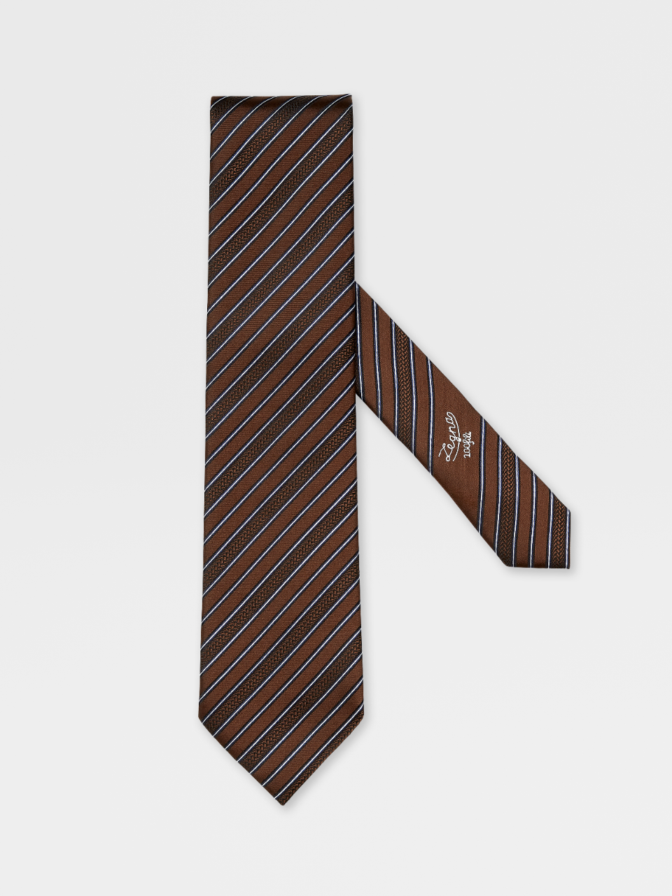 100fili Silk Regimental Tie