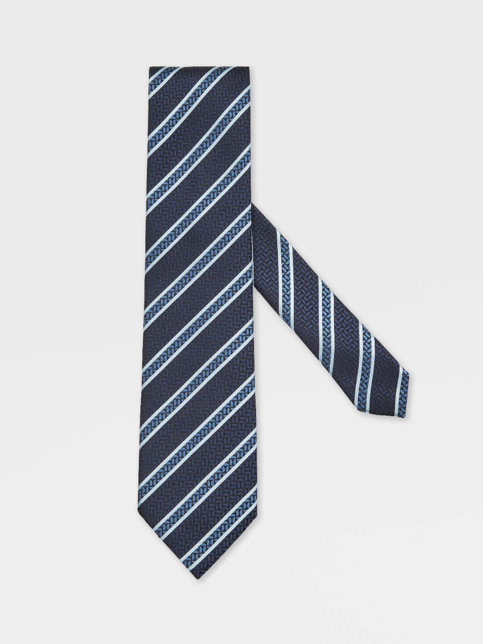 Jacquard Silk Regimental Tie