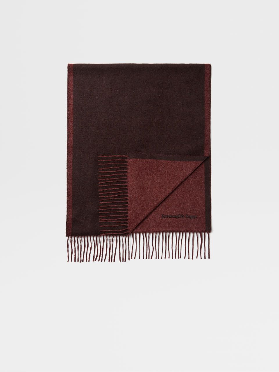 Silk Beaver Solid Duo Scarf