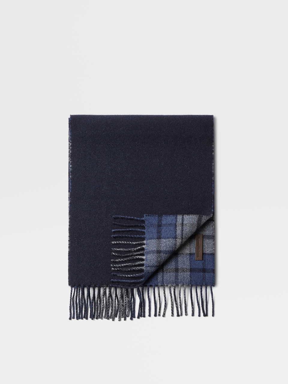 Wool Cashmere And Silk Scarf