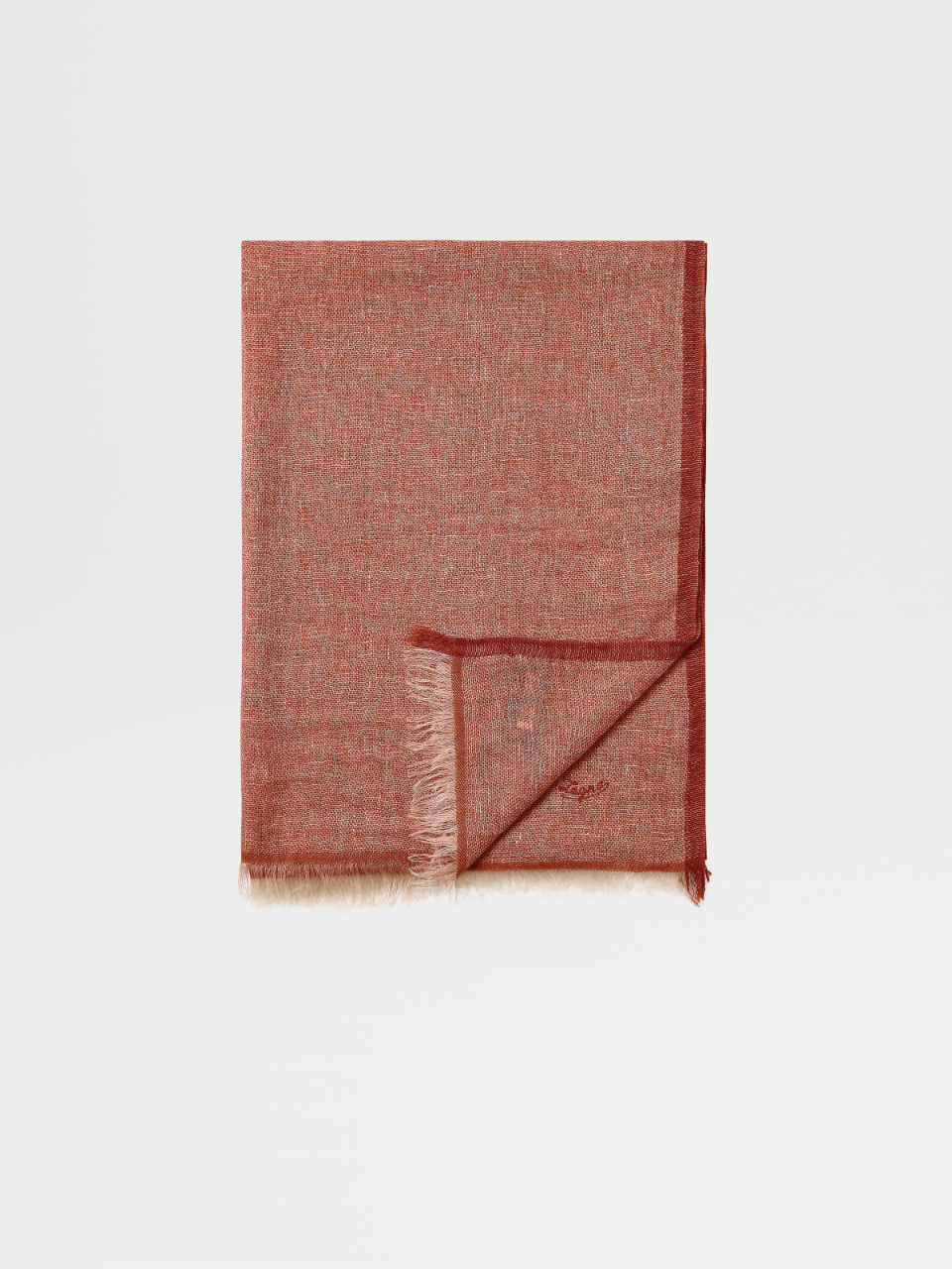 Linen And Cashmere Scarf