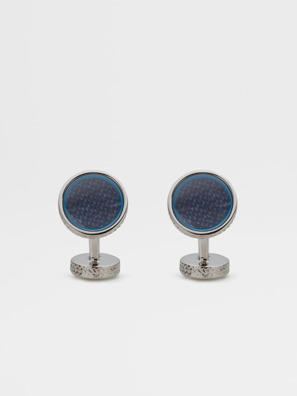 Trofeo Glass Cufflinks