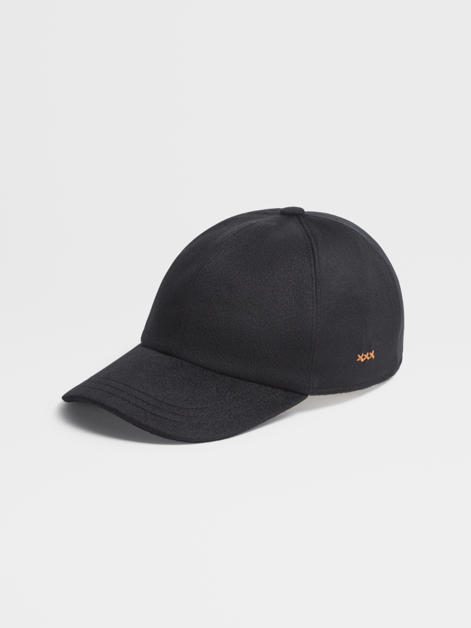 Cashmere Solid Baseball Cap