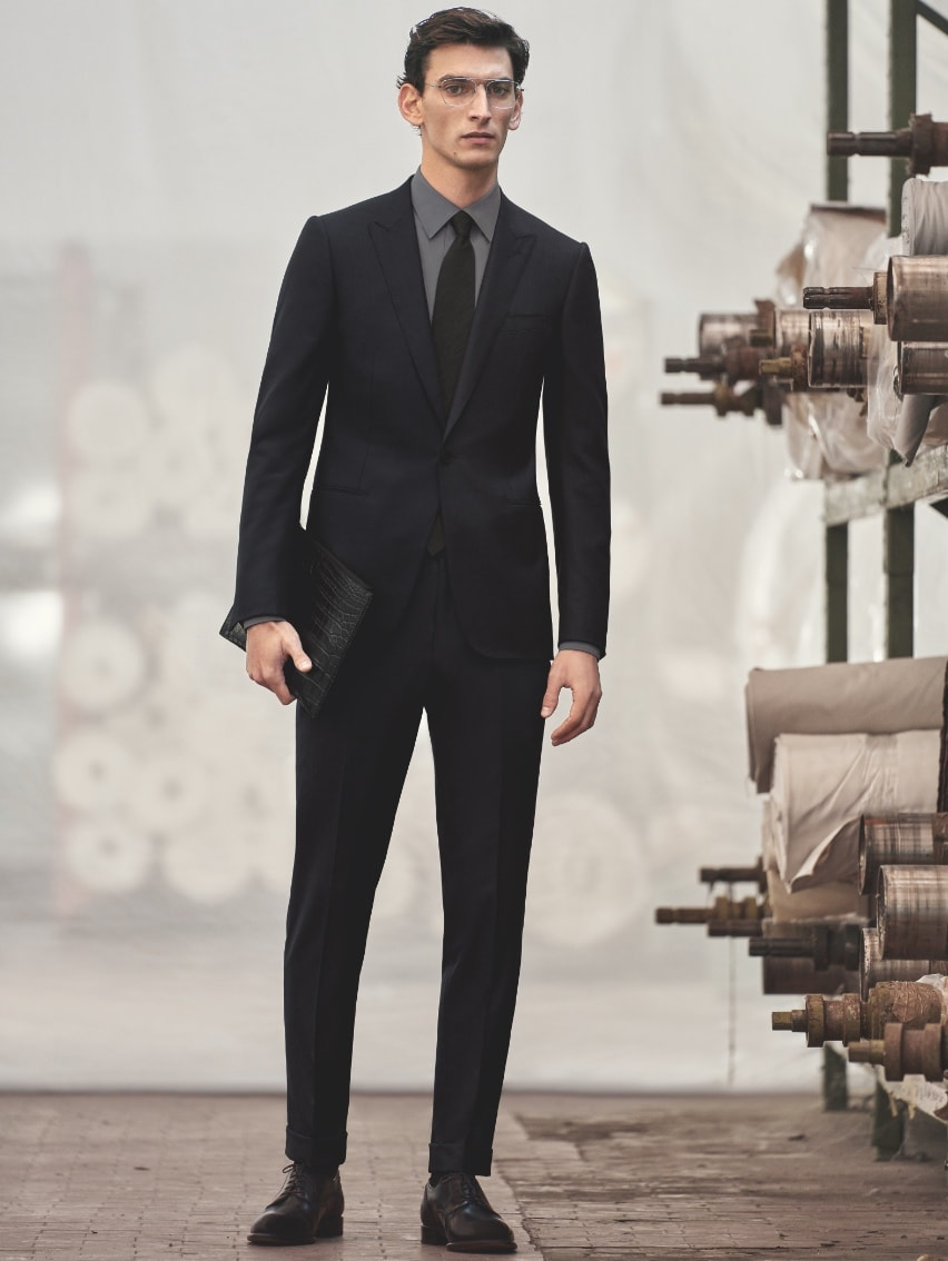 Sustainable made to measure suit | My Zegna