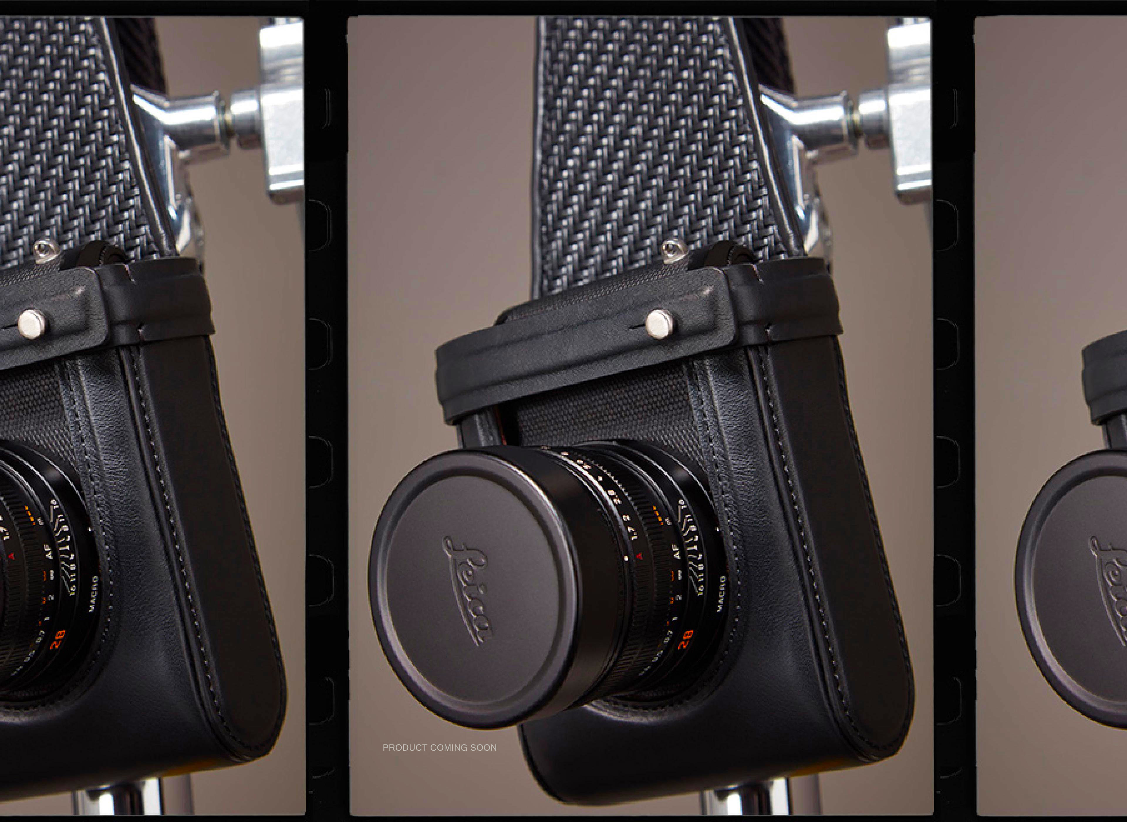 Details of camera bags | Leica x Zegna